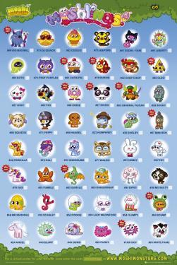 Moshi Monsters - Moshling Tick Chart
