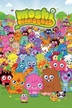 Moshi Monsters-Portrait