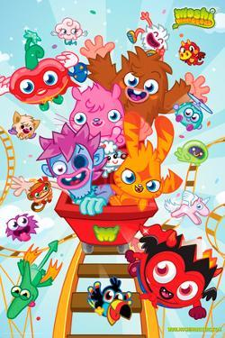 Moshi Monsters-Roller Coaster