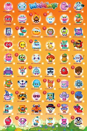 Moshi Monsters Tick Chart 2