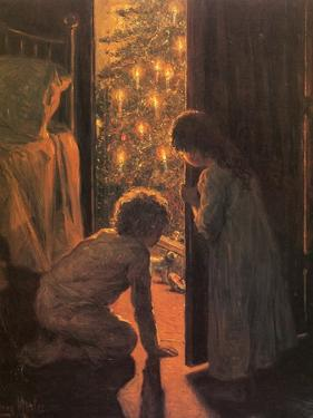 The Christmas Tree, C.1916 by Mosler