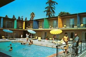 Motel Swimming Pool