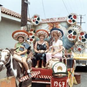 Mother and Daughters as Tourists in Tijuana, Mexico, Ca. 1967
