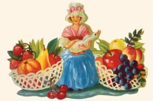 Mother Goose & Fruits