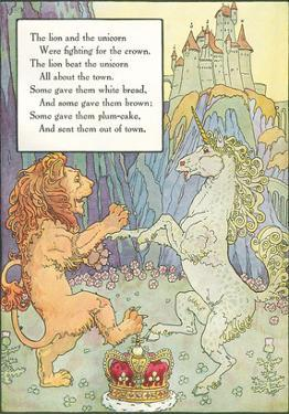 Mother Goose Rhyme, Lion and Unicorn