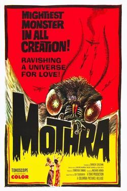 Mothra, poster art, 1961