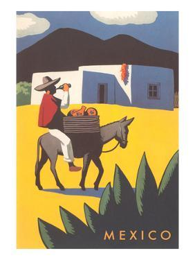 Motifs of Mexico, Burro, Peon, Adobe