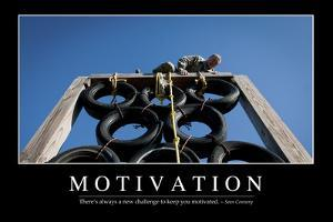 Motivation: Inspirational Quote and Motivational Poster