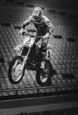 Motocross Archival Photo Poster Print