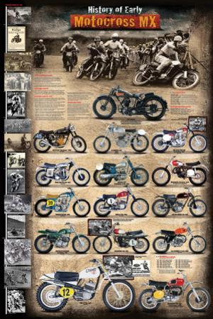 Motocross MX The Early Years 1924 - 1969