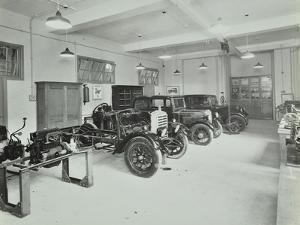 Motor Room, Wandsworth Technical Institute, London, 1937