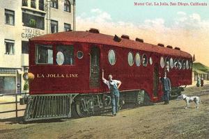 Motorized Train Car