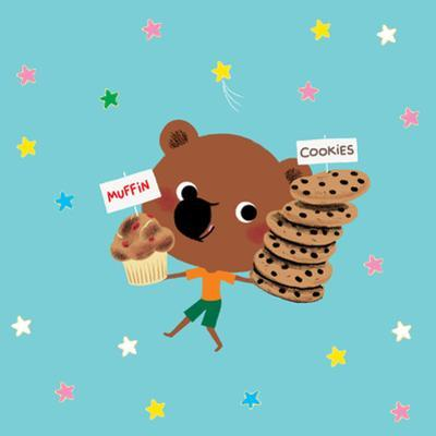 Mouk with Muffins and Cookies in New York