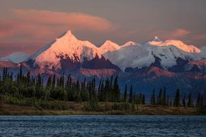 Mount Denali, previously known as McKinley from Wonder Lake, Denali National Park, Alaska