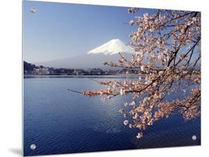 Mount Fuji, Lake Kawaguchi, Japan