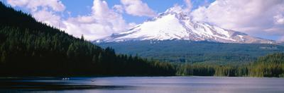 Mount Hood and Trillium Lake Near Portland, Oregon