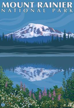 Mount Rainier, Reflection Lake