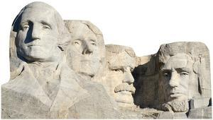Mount Rushmore National Monument Cardboard Cutout