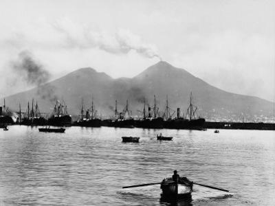 Mount Vesuvius Seen from the Quay of Naples