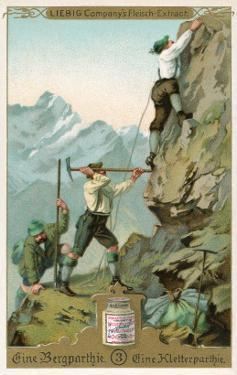 Mountain Climbing Expedition, German Alps