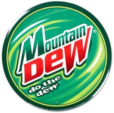 Mountain Dew Soda Round