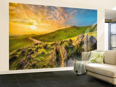 Mountain Morning Wall Mural Part 26