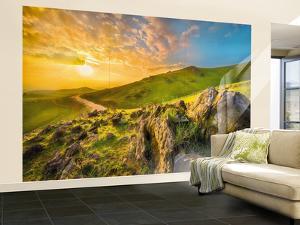 Mountain Morning Wall Mural