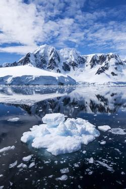 Mountain Peaks, Lemaire Channel, Antarctica