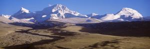 Mountains, Mount Shishapangma, Tibet