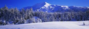 Mountains, Mountainview, Snow, Turnagain Pass, Chugach Mountains, Kenai Peninsula Alaska USA
