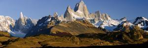 Mountains, Mt Fitzroy, Cerro Torre, Argentine Glaciers National Park, Patagonia, Argentina