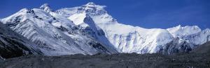 Mountains, Panoramic Landscape, Mount Everest, Tibet