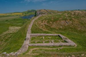 Gateway on Hadrians Wall by mountaintreks