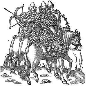 Mounted Muscovite Warriors, 1556