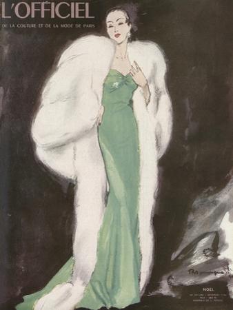 L'Officiel, December 1946 - Ensemble de L. Mendel by Mourgue