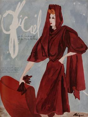 L'Officiel, July 1944 - Gaston, Rose Valois by Mourgue