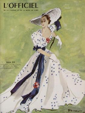 L'Officiel - Robe de Garden Party de L. Mendel by Mourgue