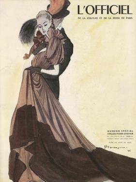 L'Officiel - Robe du Soir de Grès by Mourgue