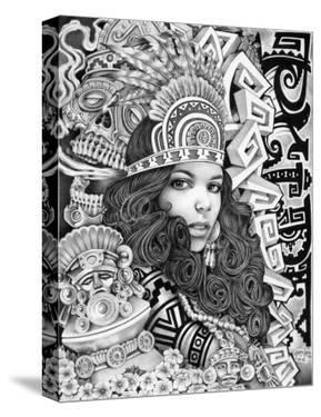 Aztec Girl by Mouse Lopez