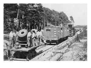 Movable Menace, The Railroad Mortar