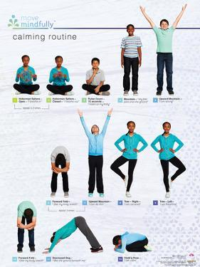 Move Mindfully Calming Poster
