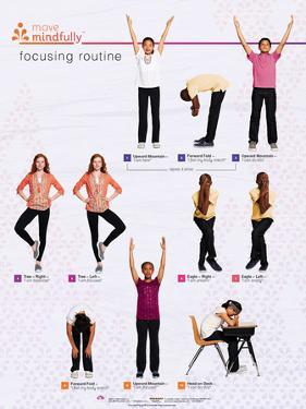 Move Mindfully Focusing Poster