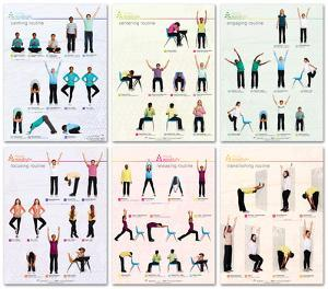 Move Mindfully Poster Set