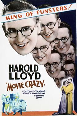 Movie Crazy - Movie Poster Reproduction