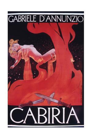 Movie Poster Cabiria