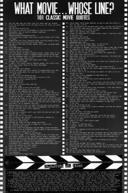 Movie Quotes (contains some profanity)