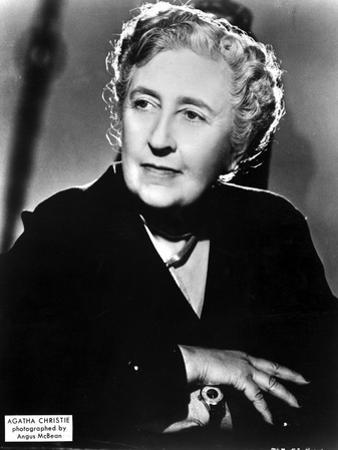 Agatha Christie Portrait in Classic by Movie Star News