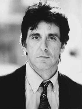 Al Pacino Looking at the Camera wearing a Coat and Tie Close Up Portrait by Movie Star News