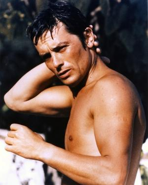 Alain Delon Posed Topless by Movie Star News