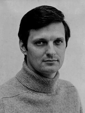 Alan Alda in White Portrait by Movie Star News